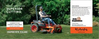 Kubota Z122R Ride on Mower